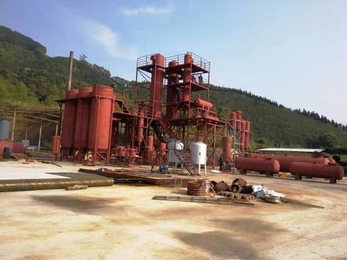 福建废油再生精馏设备项目