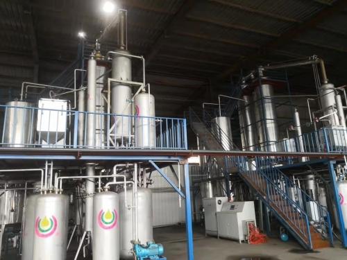 内蒙古废油再生精馏设备