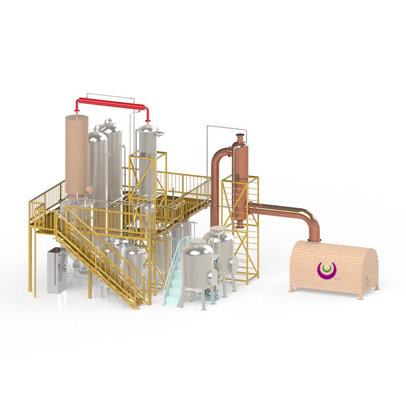 FS-HDM废油纯物理再生精馏成套装置